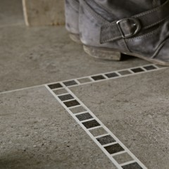 A picture of Karndean Portland Stone Mosaic - border