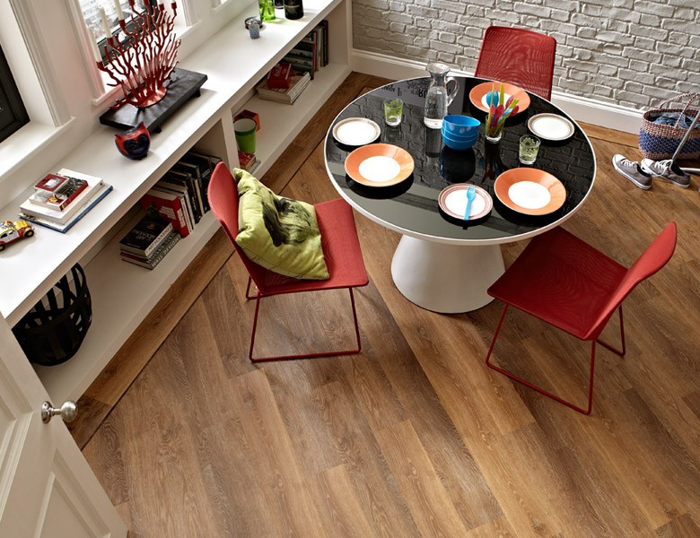 A picture of classic limed oak flooring