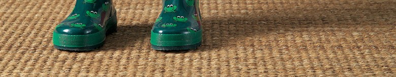 Coir, sisal, seagrass and wool flooring