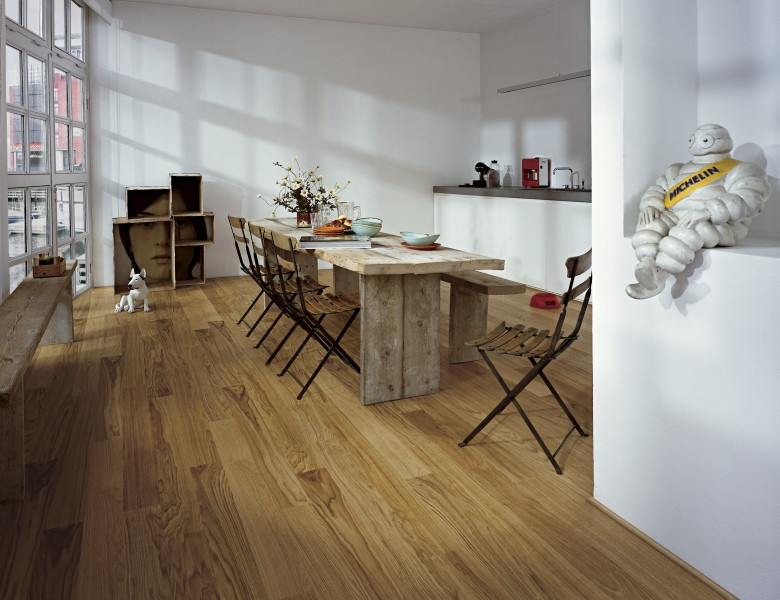 A Picture of Oak Sugar Wood Flooring
