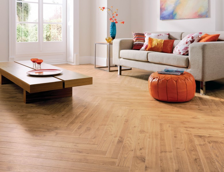 A picture of Karndesigner flooring - AmericanOak Lounge