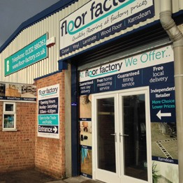 A picture of our showroom in Derbyshire