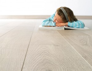 A picture of high quality laminate flooring