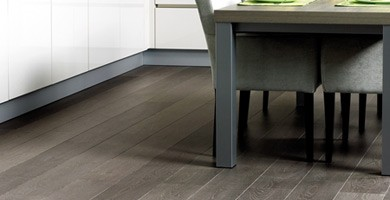 A picture of laminate flooring