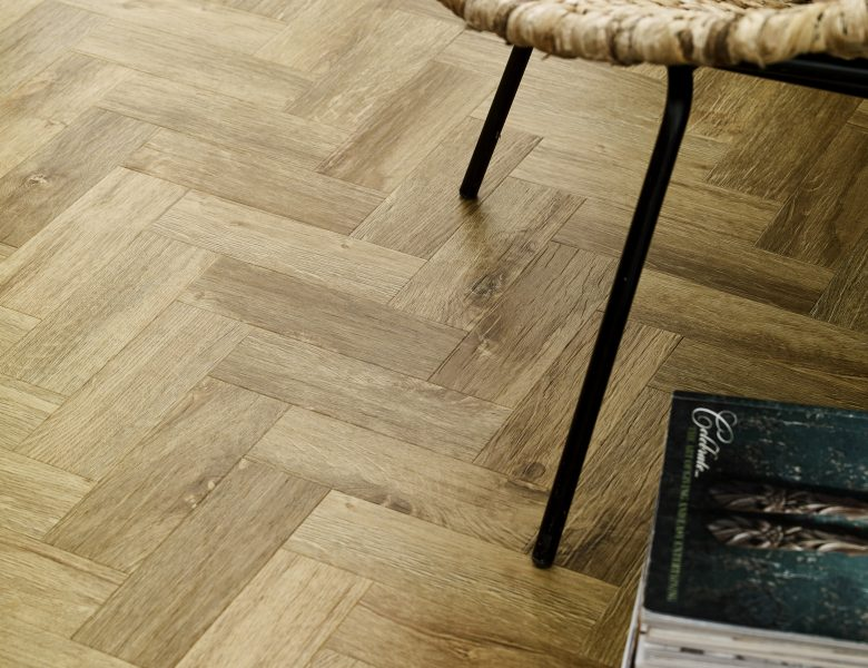 Rural Oak in Parquet Laying Pattern (Cameo)