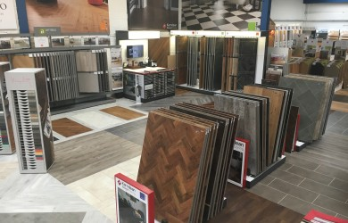 A picture of Karndean and kitchen flooring