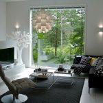 A picture of modern interior design