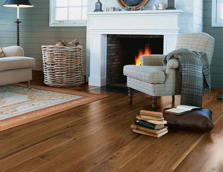 A picture of realistic wood effect laminate