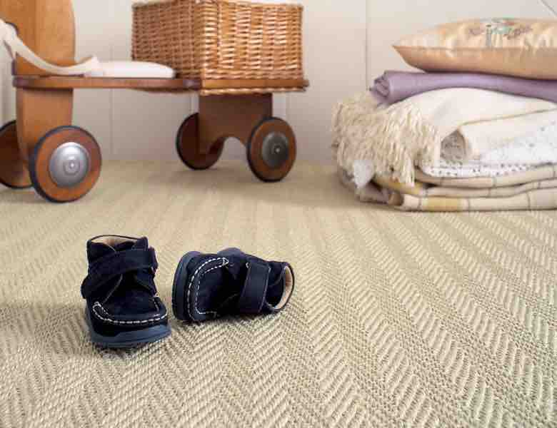 A Picture of Sisal Herringbone Hockley - Natural Flooring